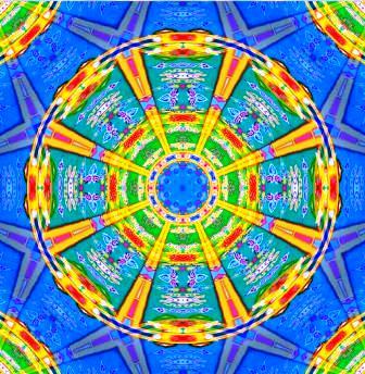 Псиграфические круговые матрицы мандалы